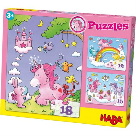 Haba Puzzles Einhorn Glitzerglück