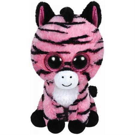 Ty Plüschtier Beanie Boo's Glubschi's 24cm Zoey Buddy - Zebra