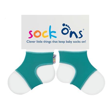 Funny Sockenhalter Sock Ons 6-12 Monate Turquoise