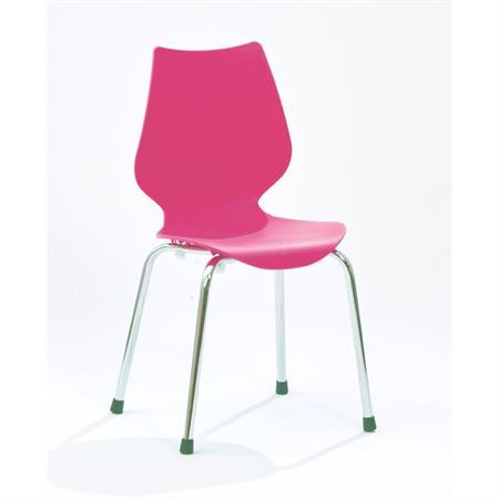 Lillylin Stuhl Kinderstuhl LEO in Pink