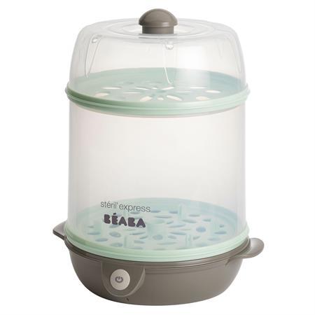 Beaba Steril Express - Elektrischer 2-in-1 Dampfst Pastel-Blau