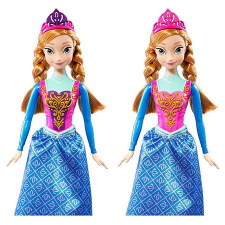 Mattel Disney Princess Die Eiskönigin Farbwech Anna Detaillierte Ansicht 02