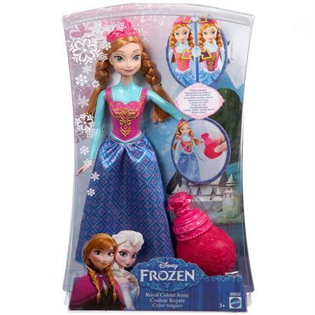 Mattel Disney Princess Die Eiskönigin Farbwech Anna Ansichtsdetail 03