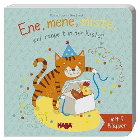 Haba Klappenbuch: Ene, mene, miste, wer rappelt in