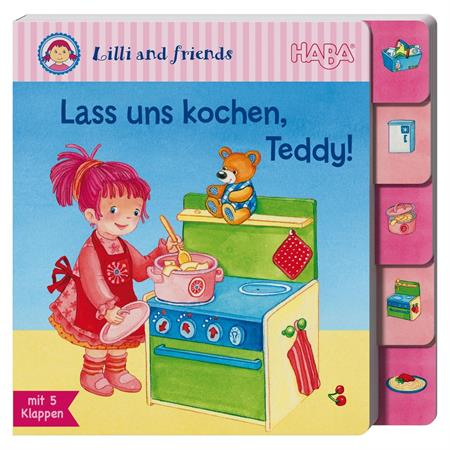 Haba Register-Klappenbuch Lilli & friends: Lass un