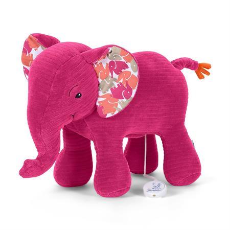 Sterntaler Spieluhr L Elefant Elefant pink