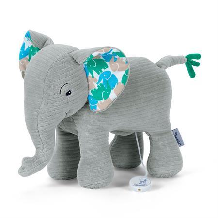 Sterntaler Spieluhr L Elefant Elefant grau