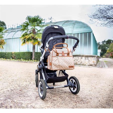 Babymoov Wickeltasche Style Design 2015 Zink Detaillierte Ansicht 02