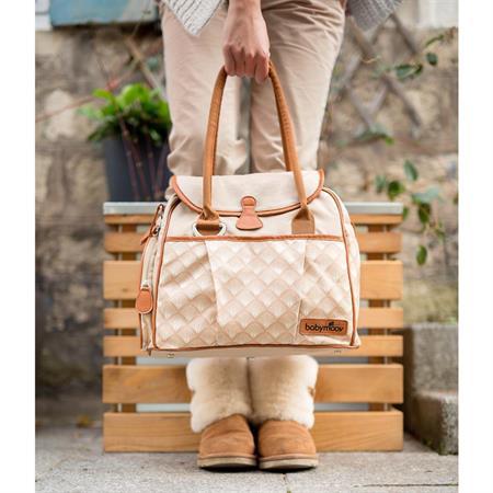 Babymoov Wickeltasche Style Design 2015 Zink Ausschnitt 04