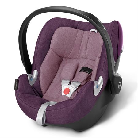 Babyschale Cybex Aton Q Princess Pink - purple