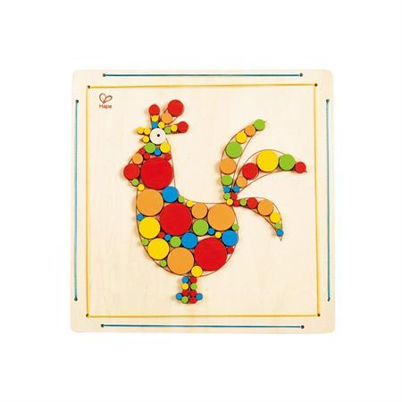 Hape Bastel-Set Hahn-Mosaik
