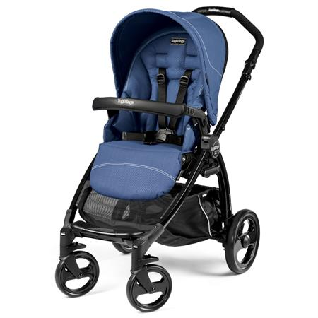 Peg Perego BOOK plus schwarz Kinderwagen Buggy Mod Bluette