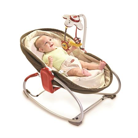 Tiny Love Baby Schaukel Wippe Napper in Braun