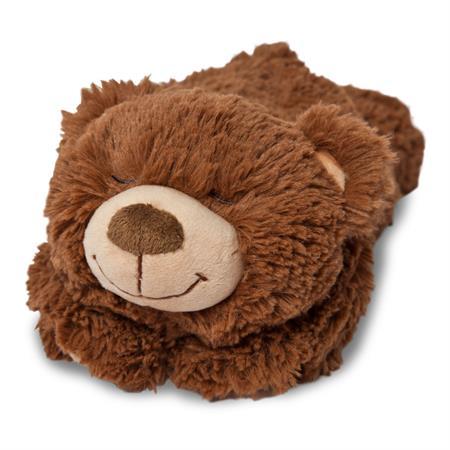 Grünspecht Kuscheltier Wärme-Knuddel Bärenfamilie Kind liegend