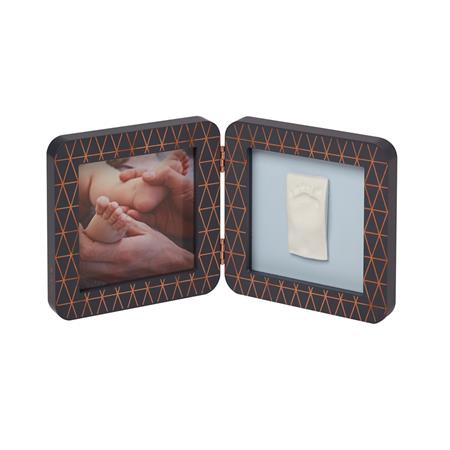 BabyArt My Baby Touch für Hand-/Fußabdruck 2-teilig Limited Copper Edition Black