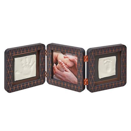 BabyArt My Baby Touch für Hand-/Fußabdruck 3-teilig Limited Copper Edition Black