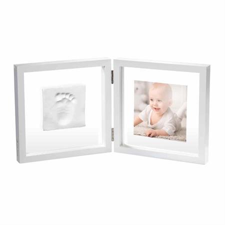 BabyArt Bilderrahmen My Baby Style transparent 3D für Fuß/Handabdruck