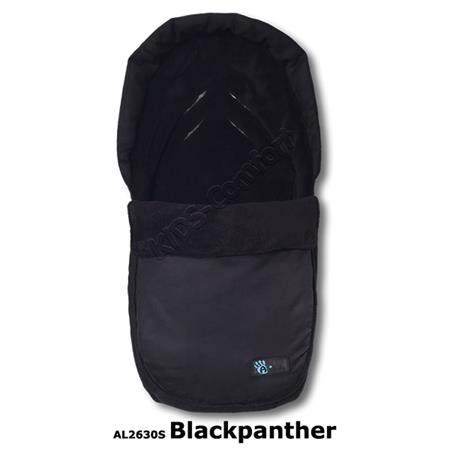 Altabebe Winterfußsack Velours Car Seat AL2630S Black Panther