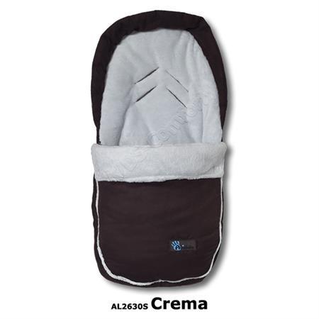 Altabebe Winterfußsack Velours Car Seat AL2630S Cream