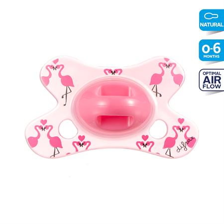 6001231 Difrax Soother Natural 0 6 Lovely