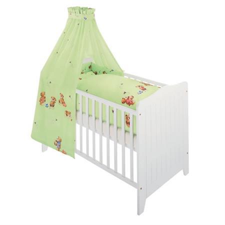 Zöllner Bett Set – Bettwäsche Nestchen Himmel Tedd Grün