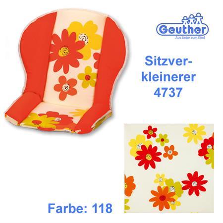 Geuther Sitzverkleinerer 4737 für alle Hochstühle  Blumen