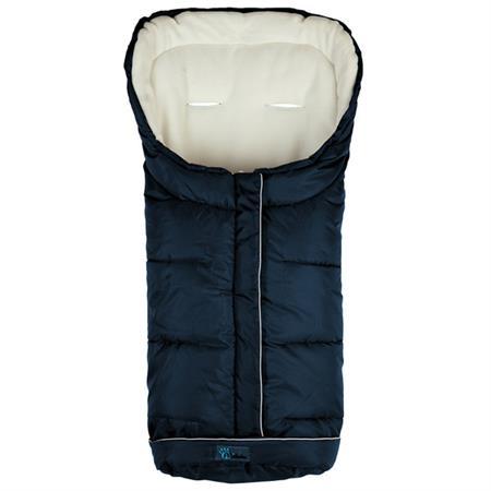 Altabebe Standard winterwarmer Fußsack AL2203 Marine Whitewash