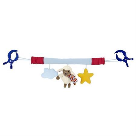 Sterntaler Kinderwagenkette mit Clips Stanley