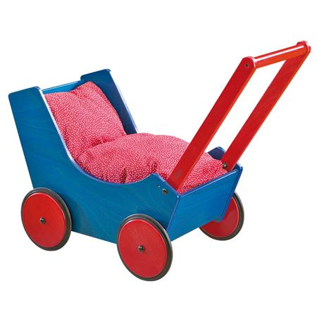 Haba Puppenwagen in verschiedenen Ausführungen Blau