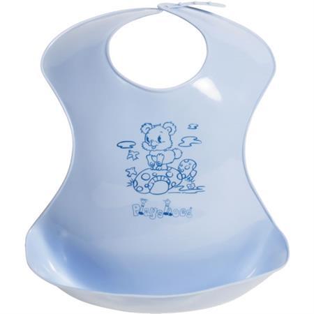 Playshoes Kunststoff-Latz mit Auffangschale Blau