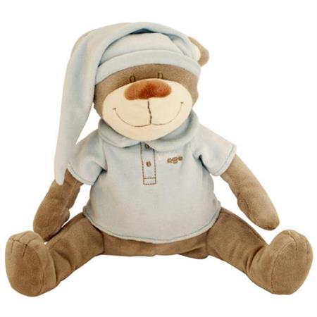 Babiage Doodoo Bär Plüschtier Einschlafhilfe für B Blau