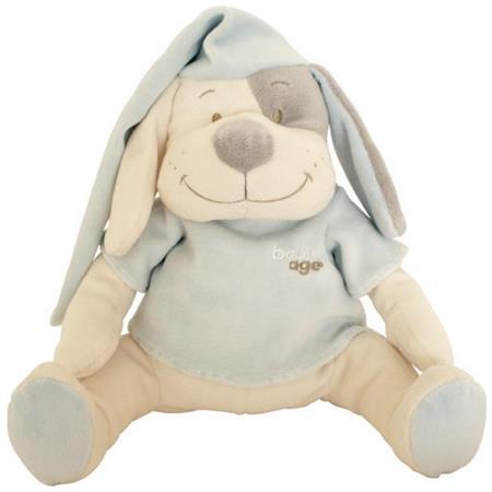 Babiage Doodoo Hund Plüschtier Einschlafhilfe für  Blau