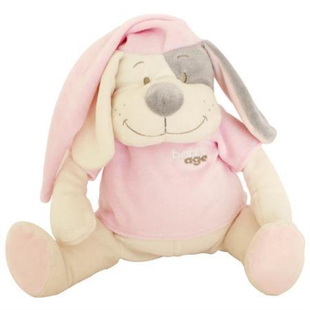 Babiage Doodoo Hund Plüschtier Einschlafhilfe für  Pink