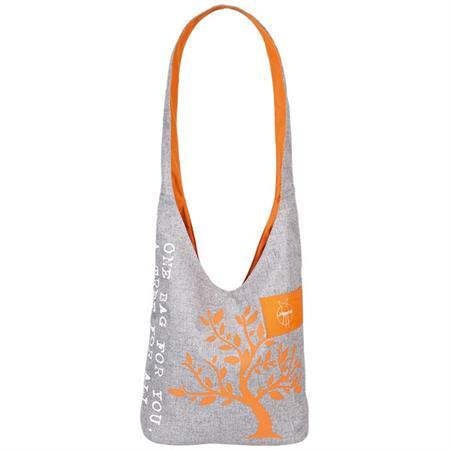Lässig Green Label Charity Shopper Tasche Orange