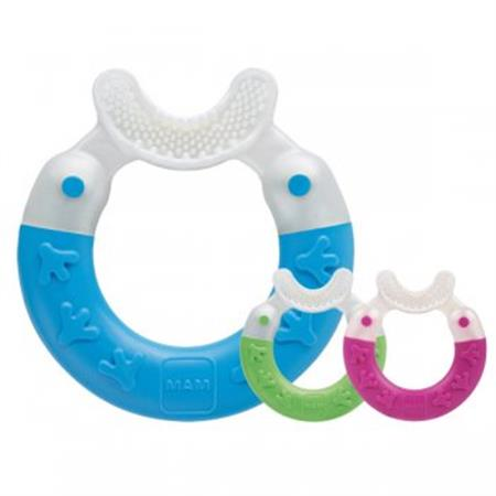 MAM Bite & Brush Beißring mit Zahnpflegefunktion