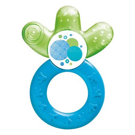 MAM Cooler Beißring mit Wasserkühlteil Blau