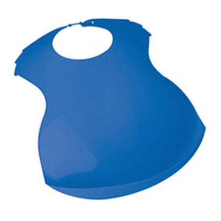 Funny Lätzchen mit Auffangschale einfarbig Blau