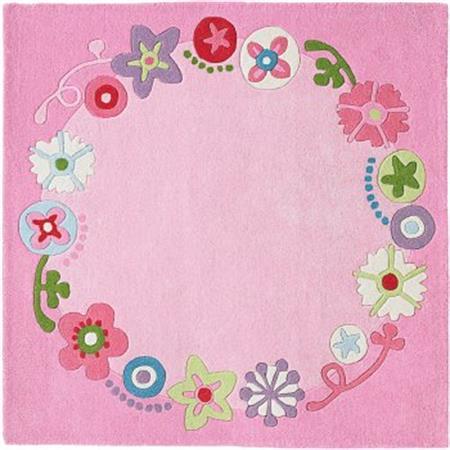 Haba Teppich Blumenkranz Maße: 140 x 140 cm