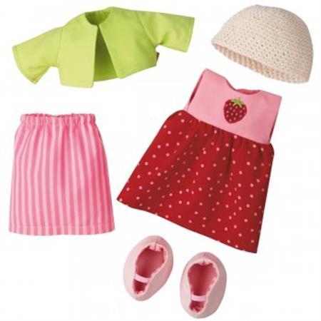 Haba Kleiderset Erdbeere für 30 cm und 34 cm Puppe