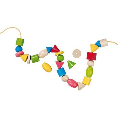 Haba Bambini-Perlen, in verschiedenen Ausführungen Fädelwurm