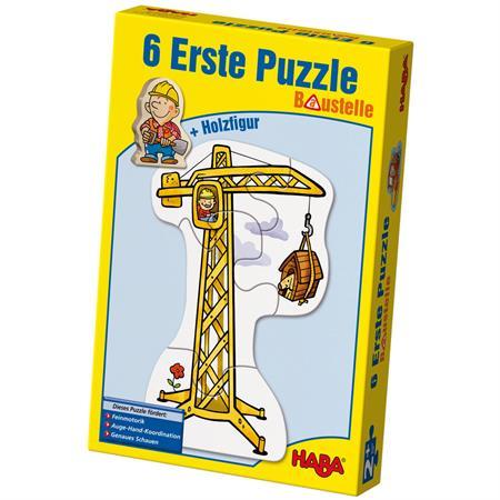 Haba Erste Puzzles, verschiedene Ausführungen Baustelle