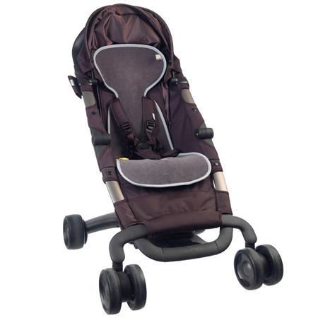 AeroMoov Sitzunterlage für Buggy und Kinderwagen Anthrazit
