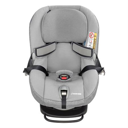 8536712110 Maxi-Cosi Milofix Nomad Grey Easy In Harness Front