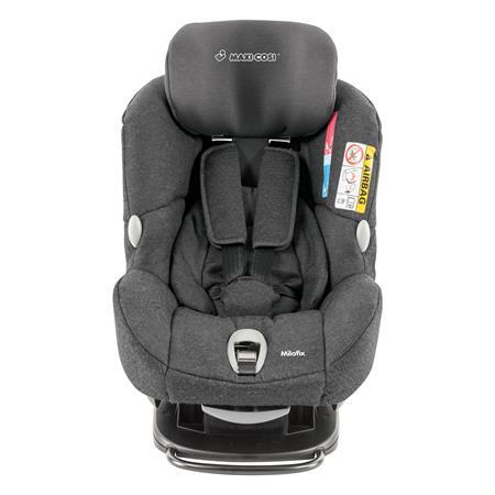 85369567 Maxi-Cosi Milofix Sparkling Grey Headrest Adjustements Front
