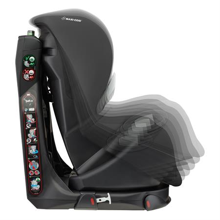 8609710110 Maxi-Cosi Axiss Nomad Black Multiple Recline Positions Side