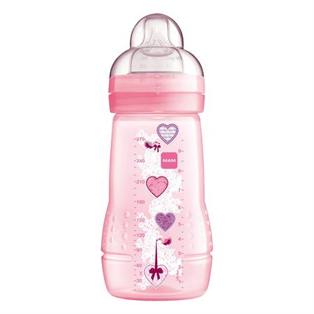 MAM Baby Bottle 270 ml Pink