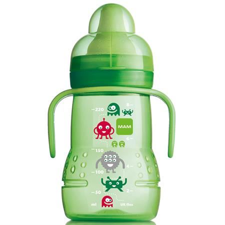 MAM Trainer Trinklernflasche 220ml Grün