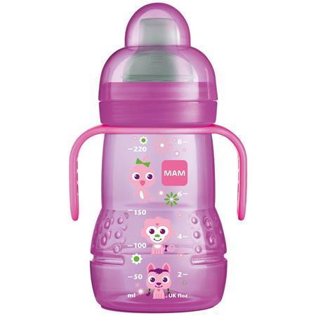MAM Trainer Trinklernflasche 220ml Pink
