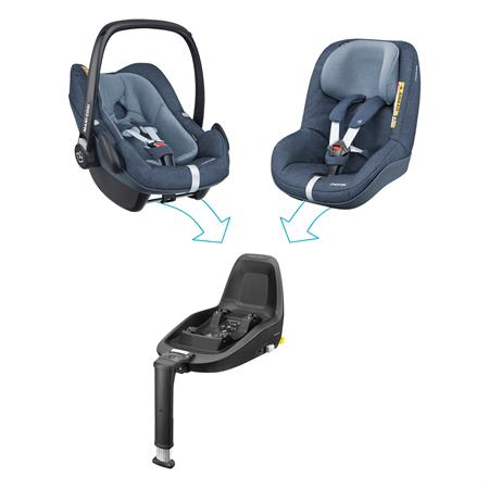 8798243121 Maxi Cosi Pebble Plus Nomad Blue 2wayfamily