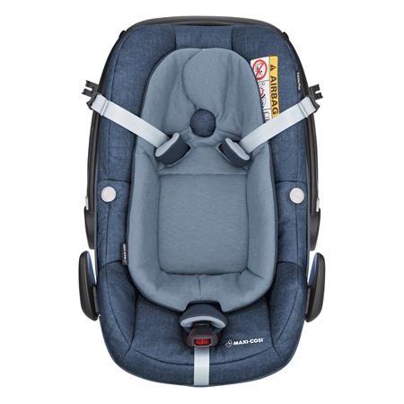 8798243121 Maxi Cosi Pebble Plus Nomad Blue Easy Out Gurtsystem